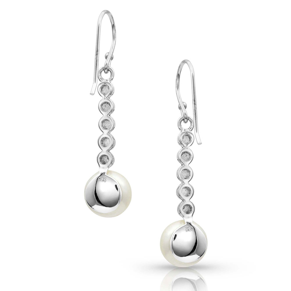 Pursue the Wild Crossing Paths Pearl Earrings