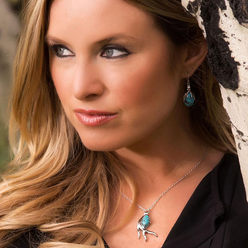 Pursue the Wild Hidden Treasure Turquoise Necklace