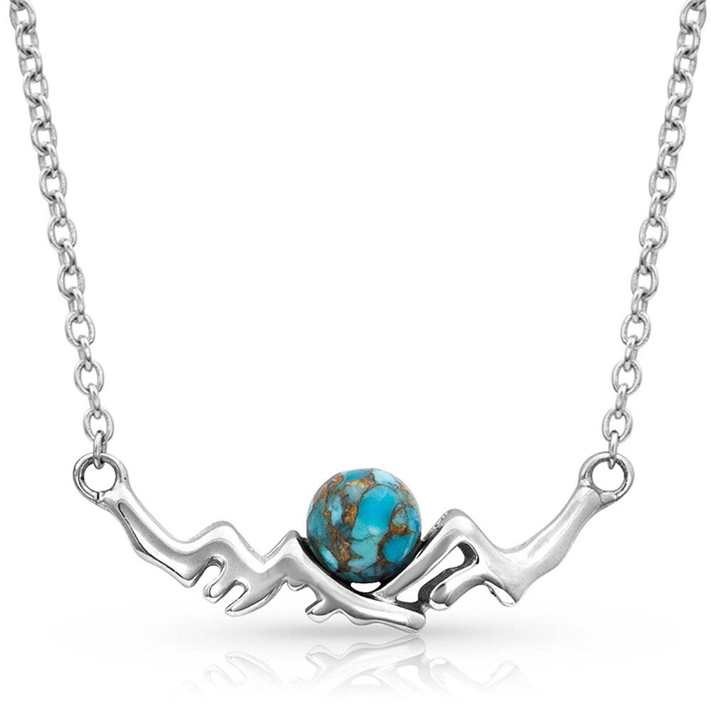Pursue the Wild Another Mountain Turquoise Necklace