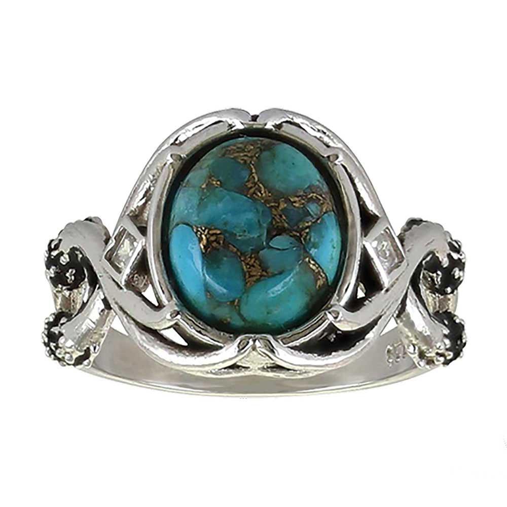 Sterling Lane High Spirited Turquoise Ring