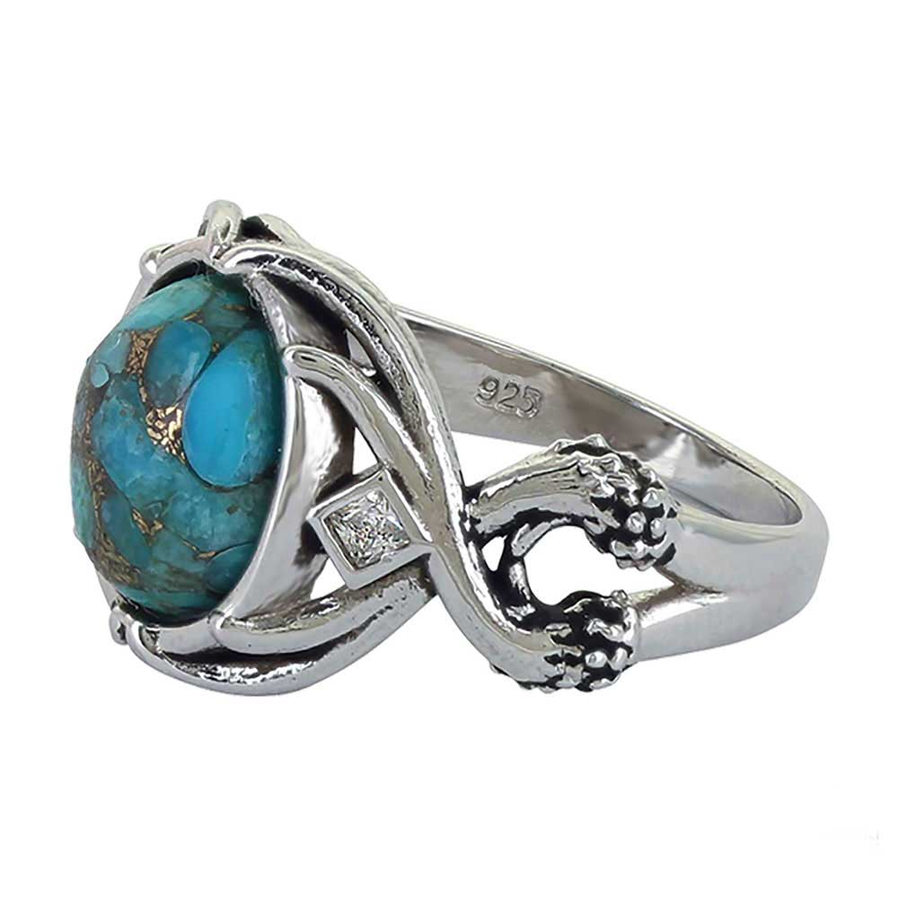 Sterling Lane High Spirited Turquoise Ring