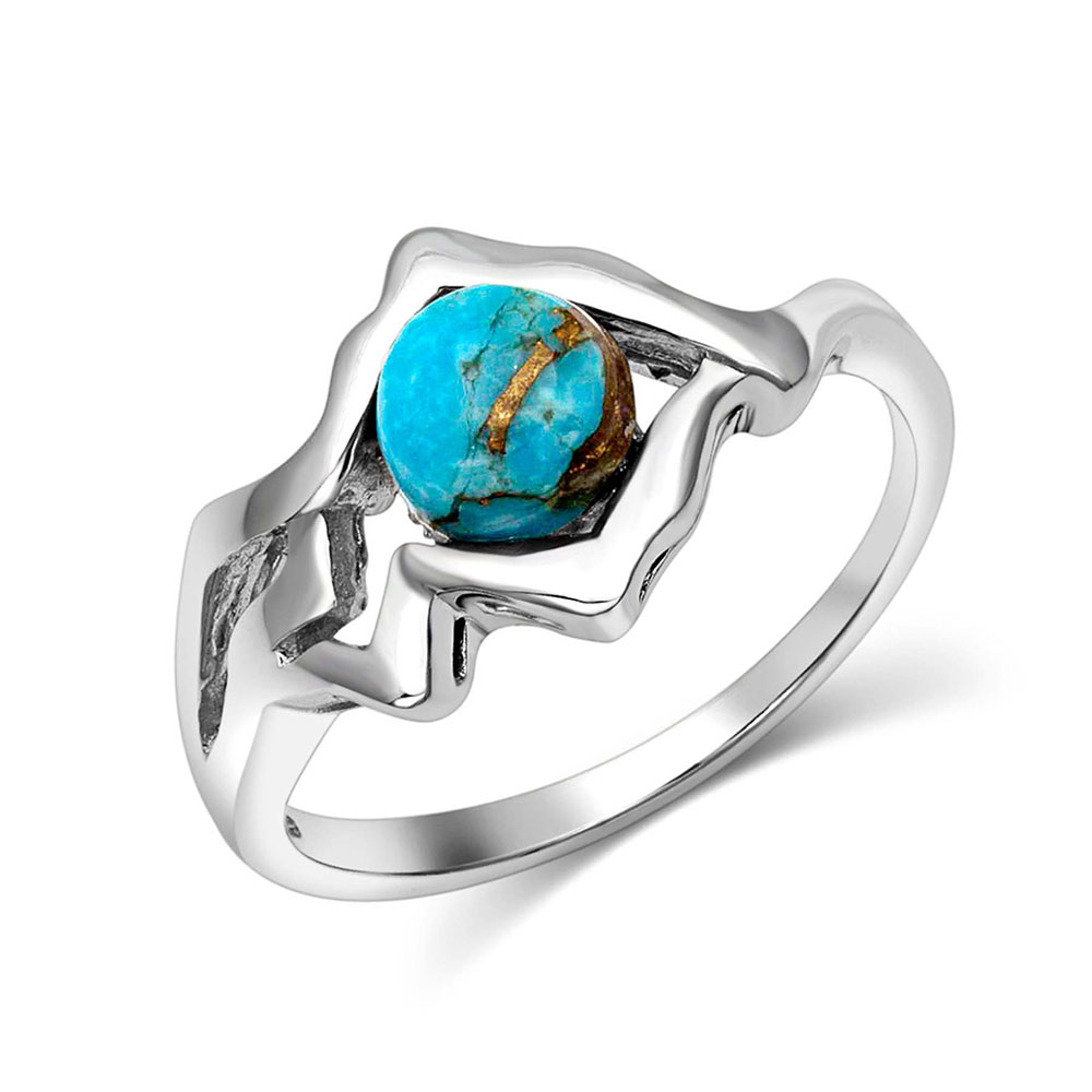 Pursue the Wild Another Mountain Turquoise Ring