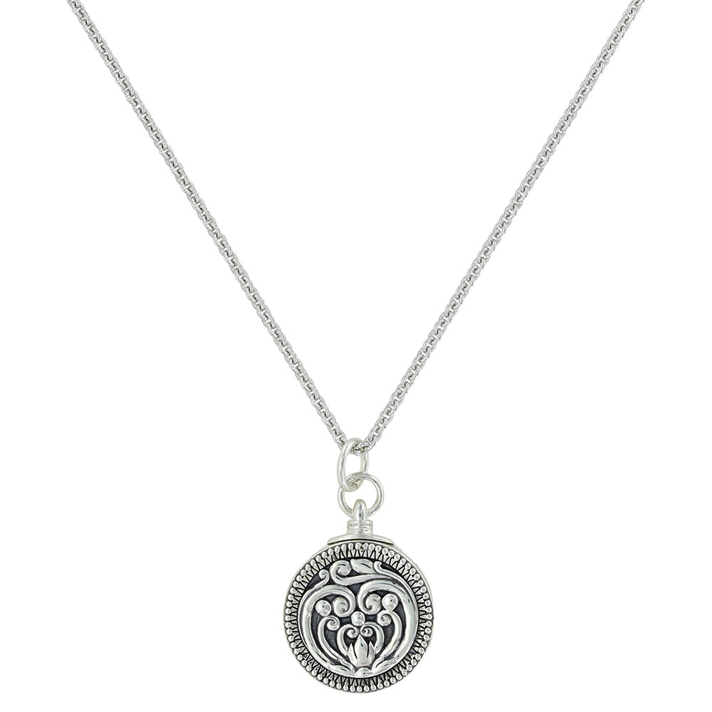 Heart's Flame Legacy Locket Necklace