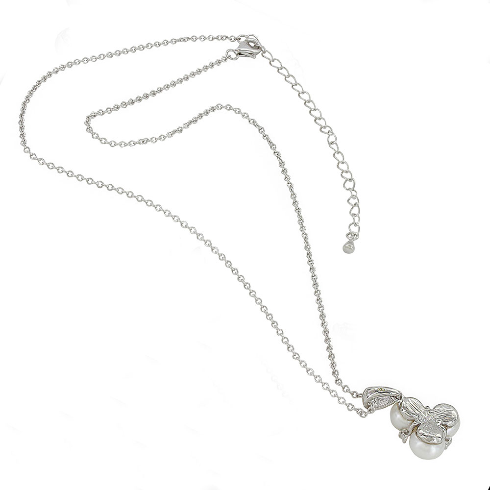 Sterling Lane Trinity of Beauty, Wisdom and Loyalty Necklace