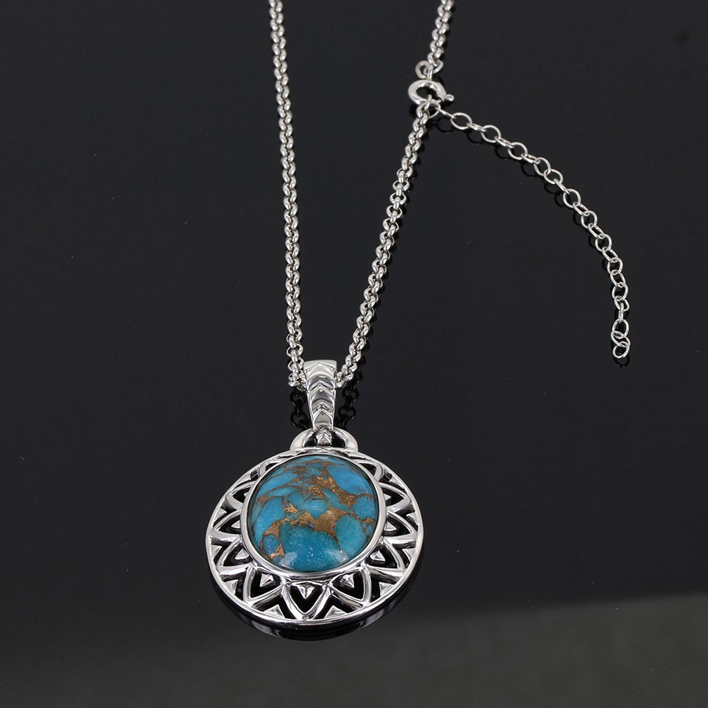 Sterling Lane Sun Dance Turquoise Necklace