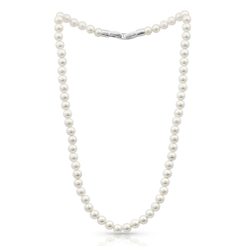 Sterling Lane Pearl Rope Necklace