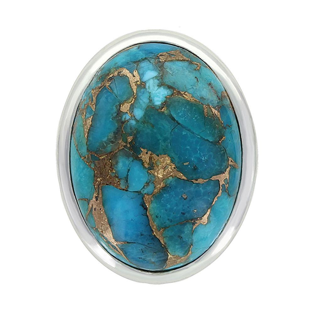 Sterling Lane Sun Dance Turquoise Ring