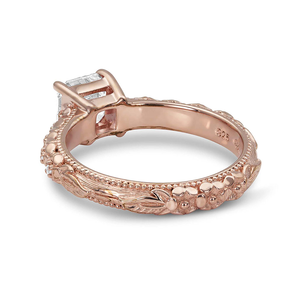 Sterling Lane Rose's Wild Rose Ring