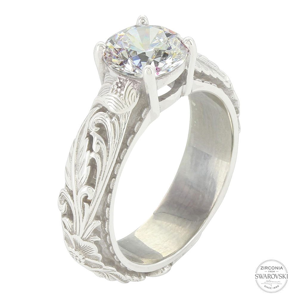 Sterling Lane Sheridan West Solitaire Ring