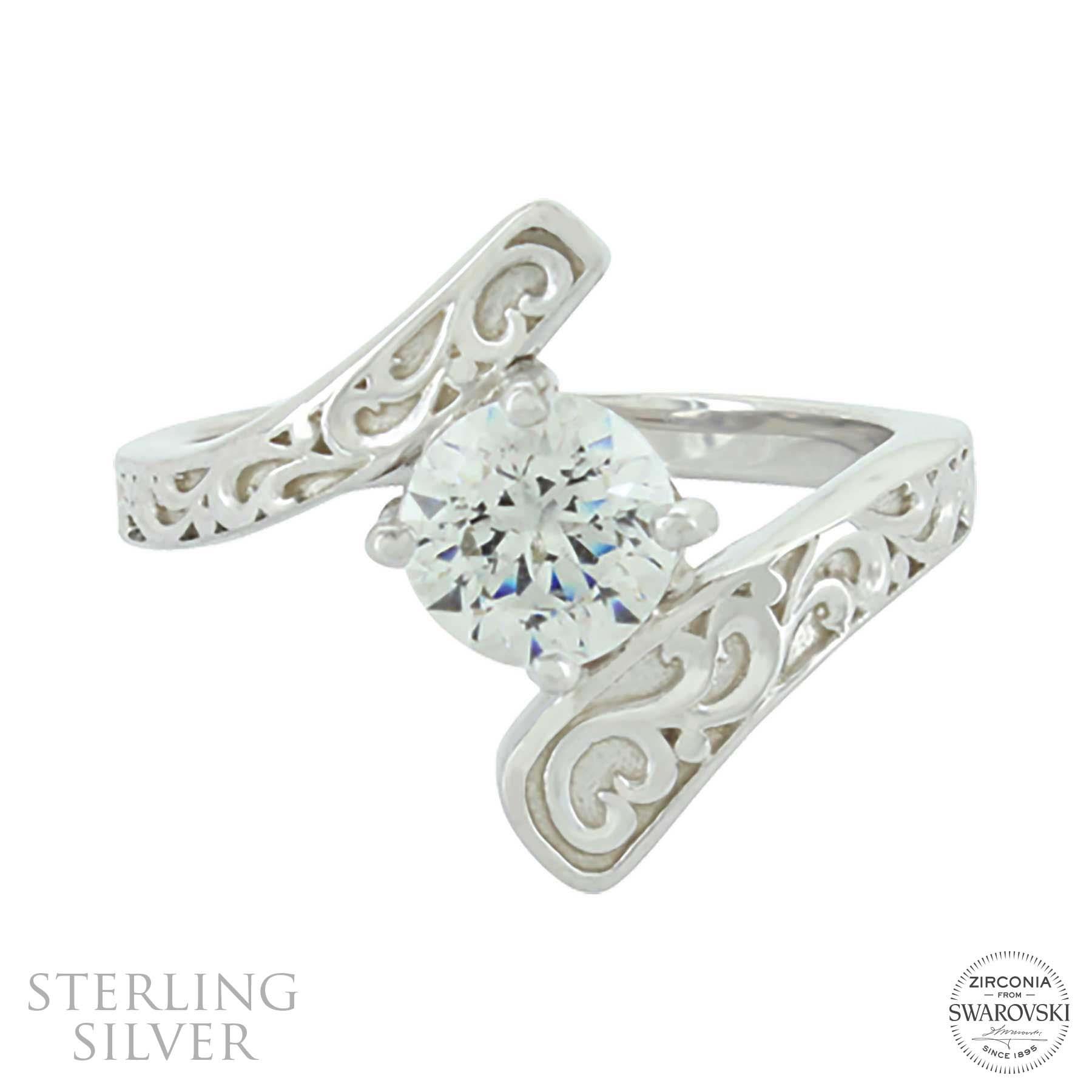 Sterling Lane Destiny Engagement Ring & Wedding Band Set