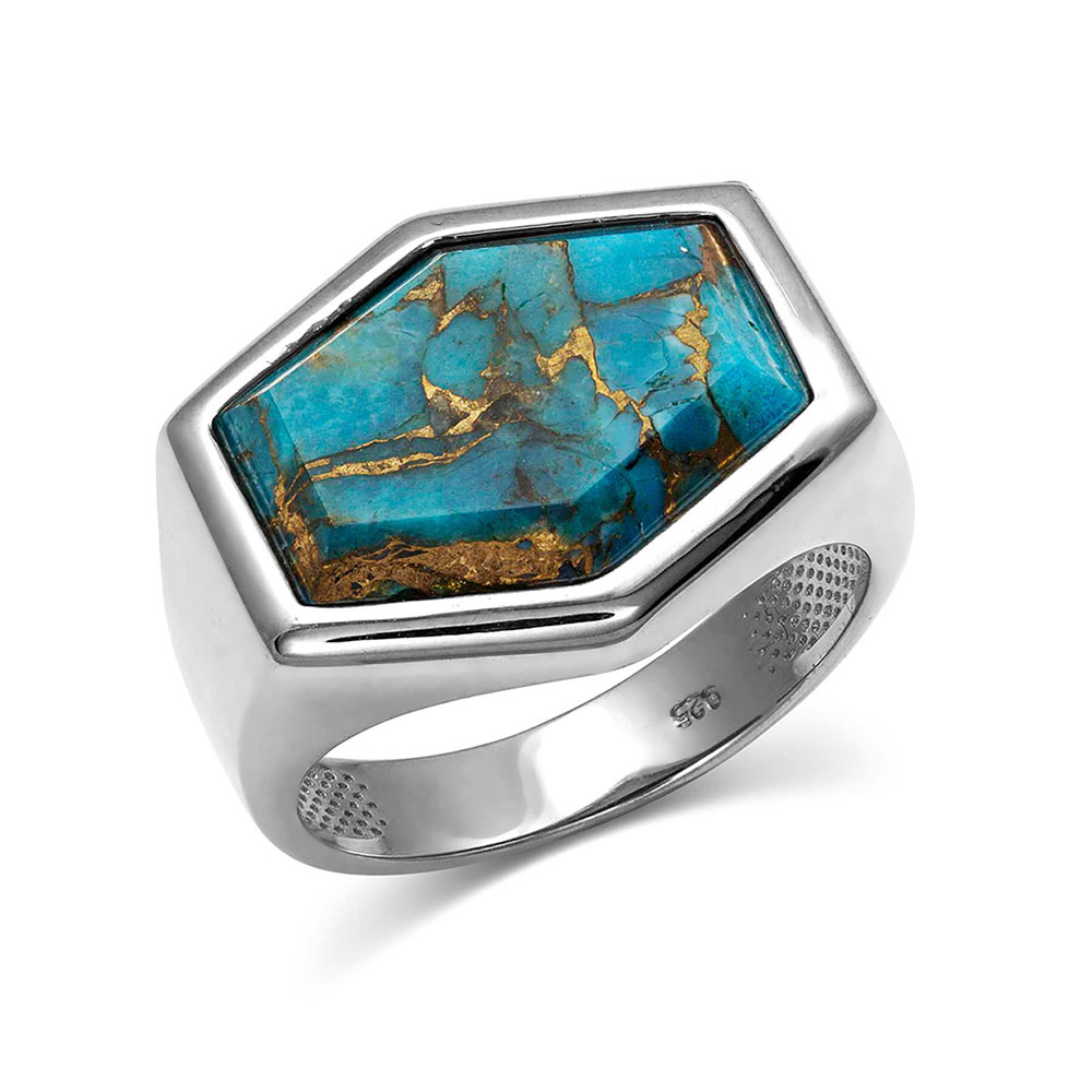 Sterling Lane Fearless Turquoise Ring