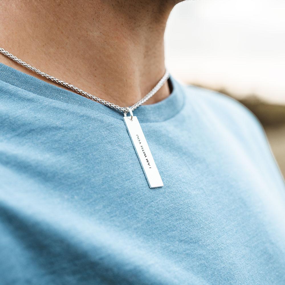 Modern Faith Dog Tag Necklace