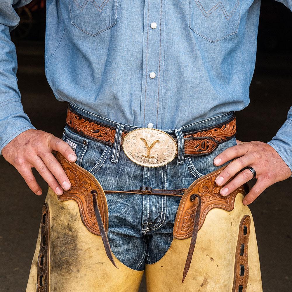 The Yellowstone Dutton Ranch Belt Buckle