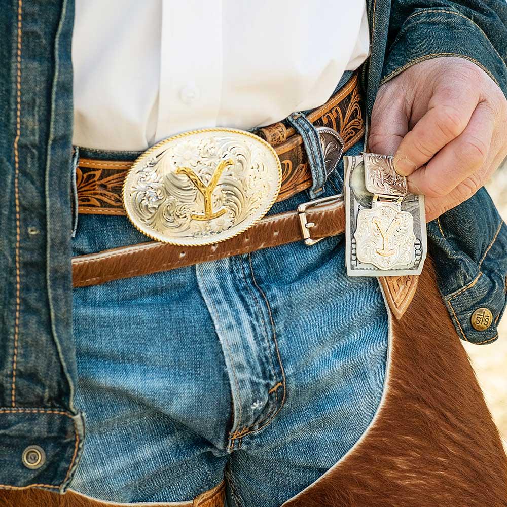 The Dutton Y Yellowstone Money Clip