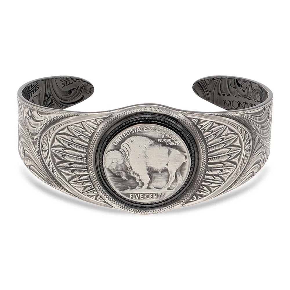 Roam Free Buffalo Cuff Bracelet