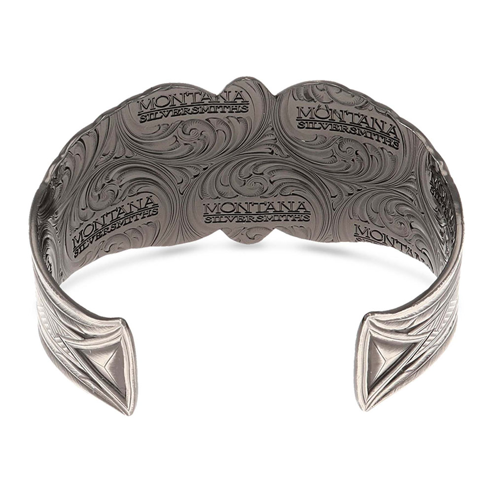Lamar Valley Jasper Cuff Bracelet