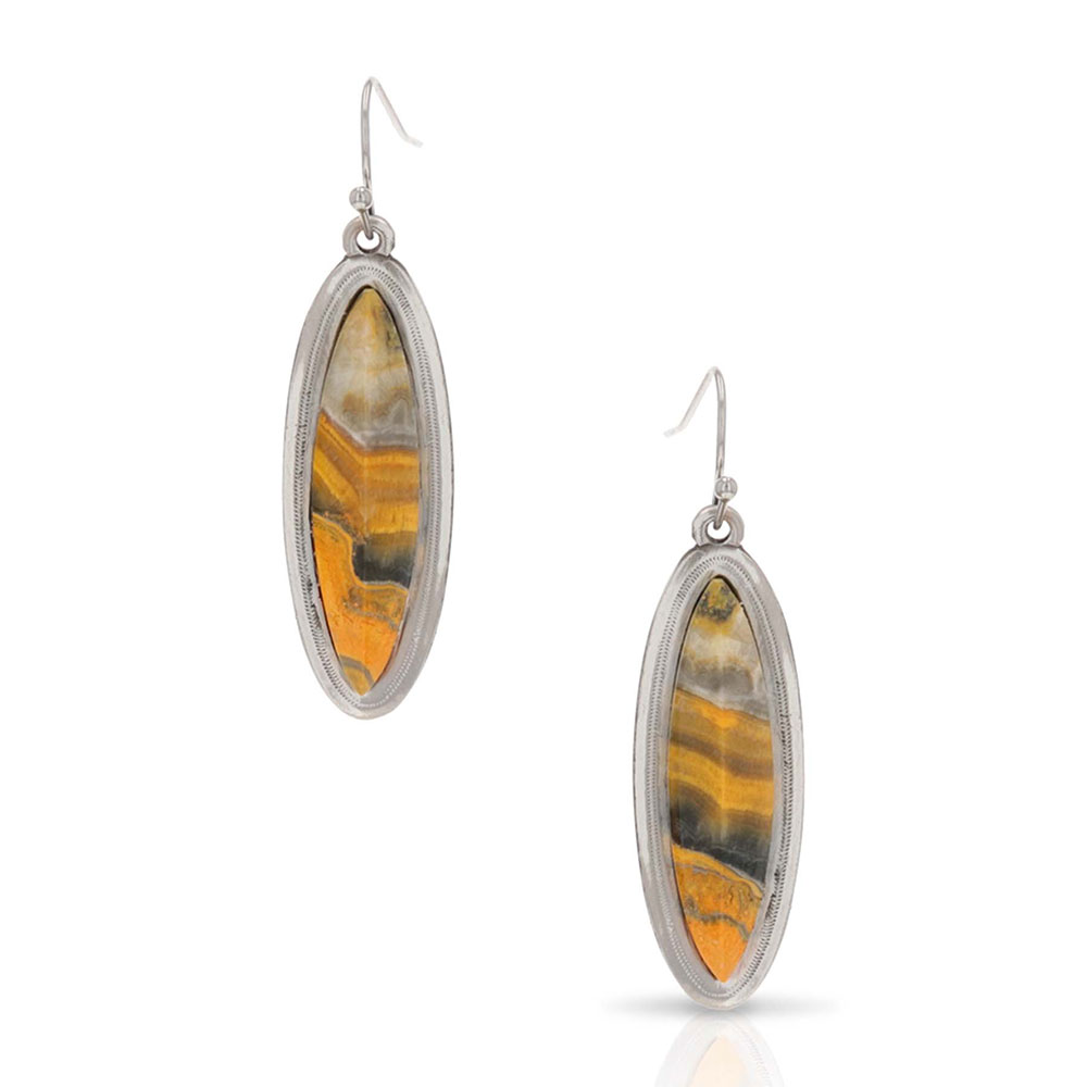 Lamar Valley Jasper Earrings