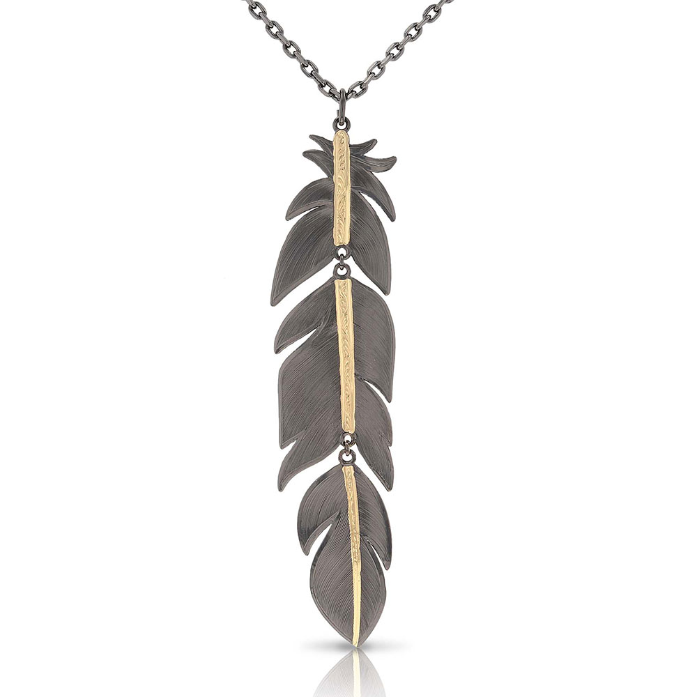 Wild & Free Eagle Necklace