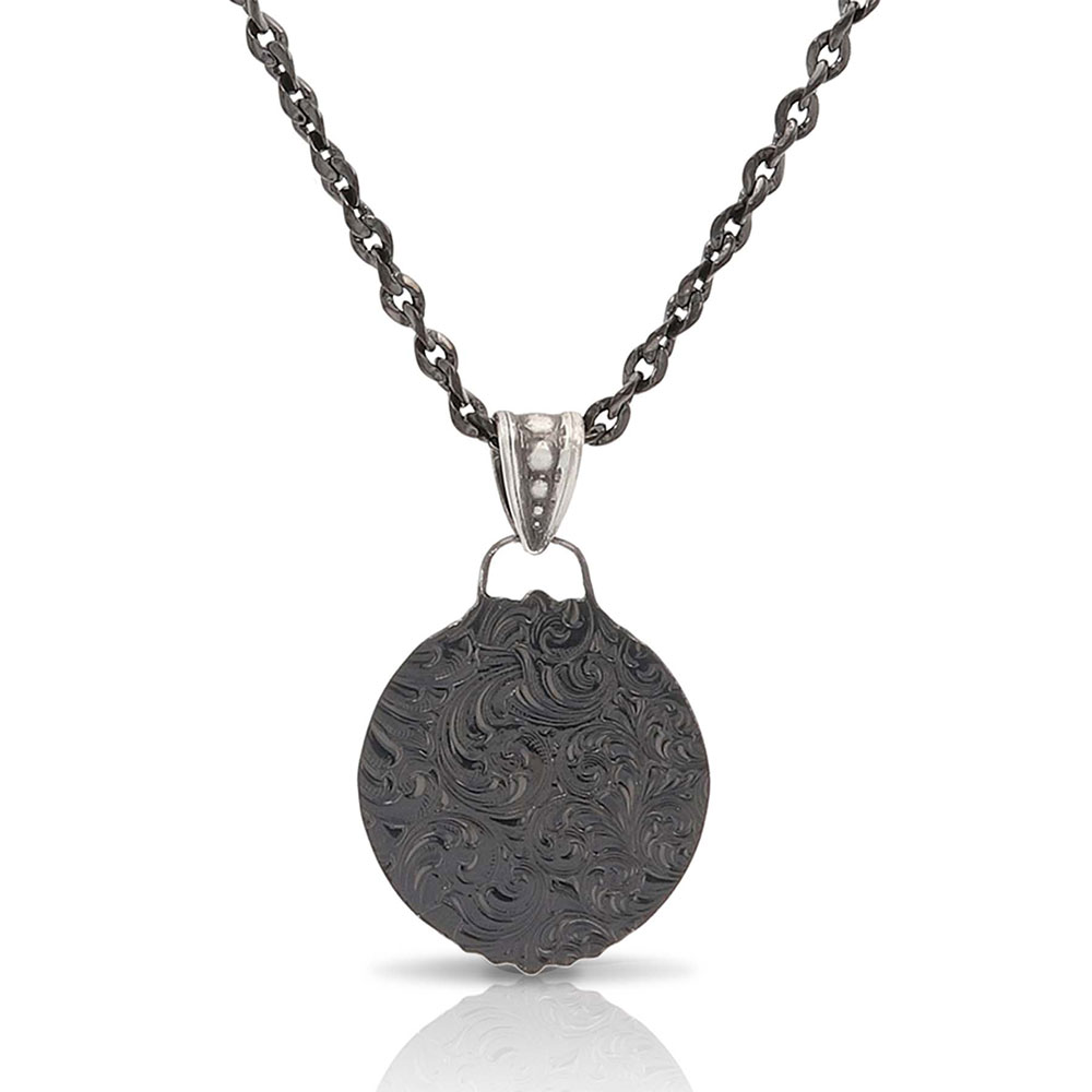 Rare Beauty Gunmetal Necklace