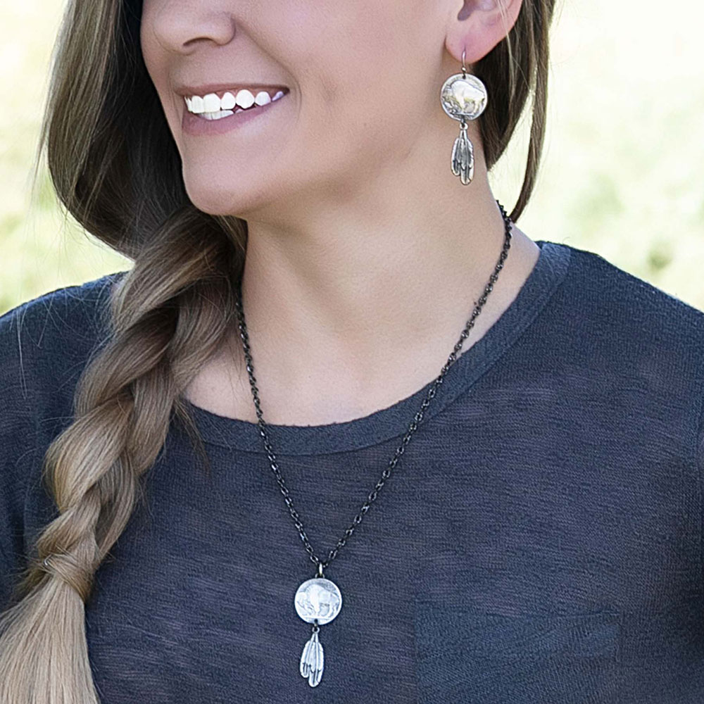 Roam Free Buffalo Necklace